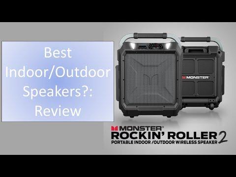 Best Indoor/ Outdoor Speakers?: Monster Rockin' Roller 2 Review