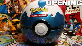 New Pokeball Time! Opening a Dive Ball Pokemon Card Tin with 3 Packs!