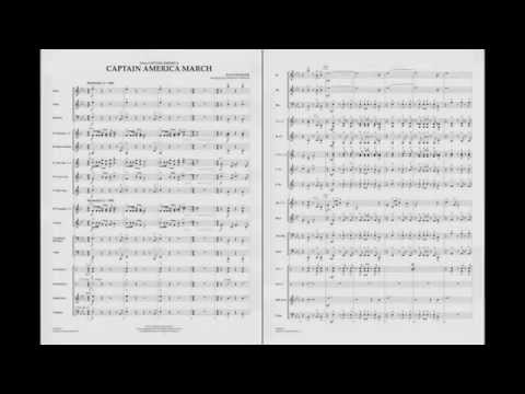 Captain America March by Alan Silvestri/arr. Johnnie Vinson
