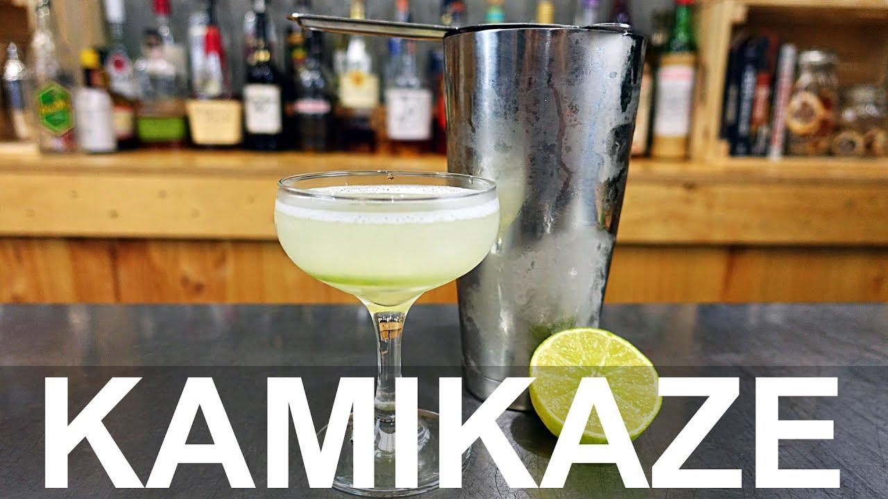 Kamikaze cocktail recipe youtube for Cocktail kamikaze