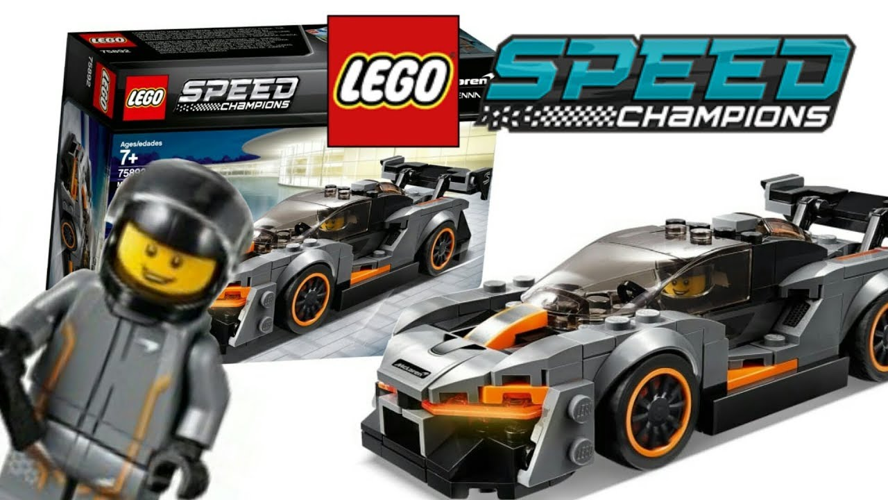 quick review lego speed champions 2019 mclaren senna set. Black Bedroom Furniture Sets. Home Design Ideas