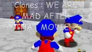 More Stupid Deaths in Super Mario 64 20000 View Celebration!