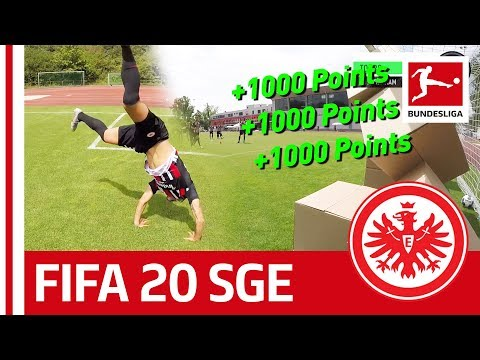 Paciencia, Abraham & Co. - EA SPORTS FIFA20 BUNDESLIGA CHALLENGE - Eintracht Frankfurt