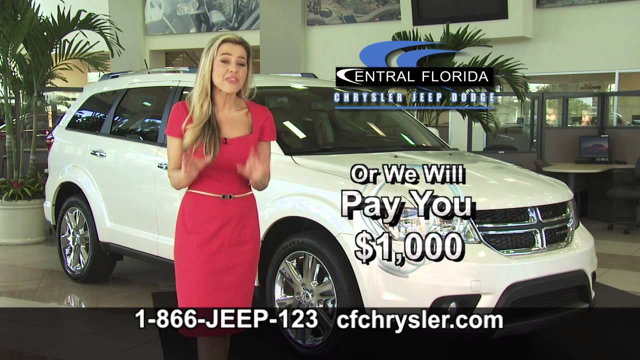central florida chrysler jeep dodge will beat any price youtube. Black Bedroom Furniture Sets. Home Design Ideas