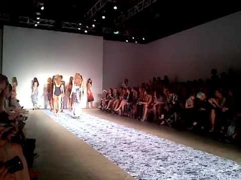 We are Handsome spring/summer 2012/2013 finale at Mercedes-Benz Fashion Week Australia