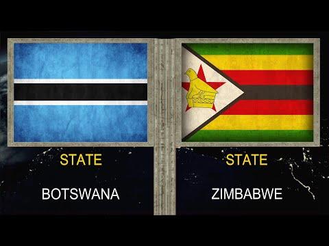 Botswana vs Zimbabwe - Army Military Power Comparison 2020