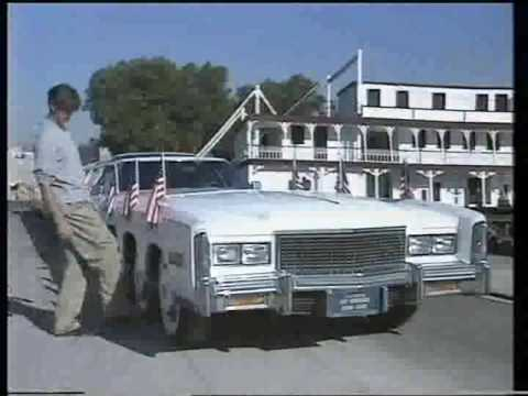 Crazy 100 foot long stretch Limo.