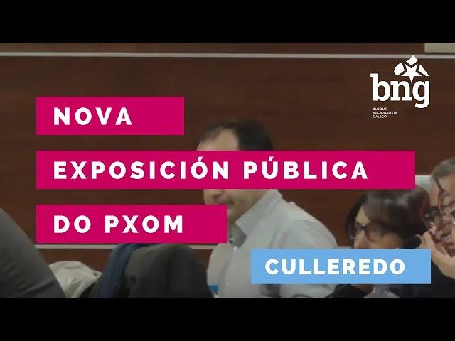 O BNG de Culleredo apoia a solicitude veciñal dunha nova Exposición Pública do PXOM