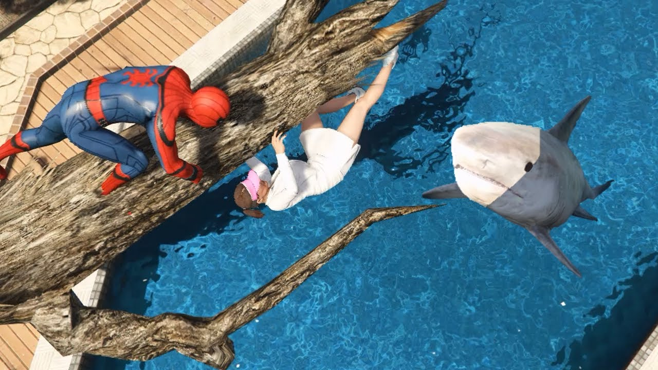 GTA 5 Water Ragdolls | SPIDERMAN Fails ep.64 (Funny Moments)