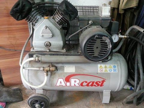 обзор и ремонт моего компрессора AIRCAST СБ4/С-50.LВ30А