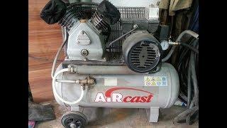 видео Поршневые компрессоры Aircast (Remeza) с ременным приводом (2.2, 3 кВт) купить в Москве