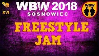 Freestyle Jam: Grysiu, Peus, Bober, Wudo, Tymin, Pueblos, Pukuś, Skopek  # WBW 2018 Sosnowiec