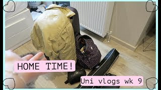 HOME FOR EASTER! Uni vlogs week 9