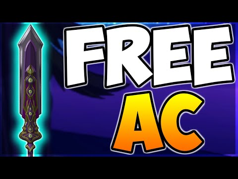 *NEW FREE AC TAGGED* SPEAR! (All-Seeing Spear Of Chaos) AQW 2020