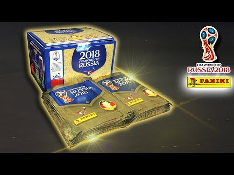 UNBOXING BOOSTER BOX (500 STICKERS) | Panini WORLD CUP 2018 Sticker Collection | 100 PACKS!!!
