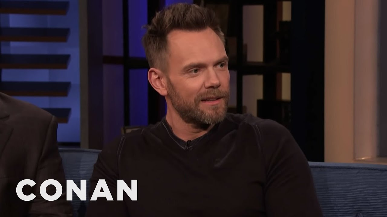 Download Joel McHale Showed Up To CONAN Two Hours Early | CONAN on TBS