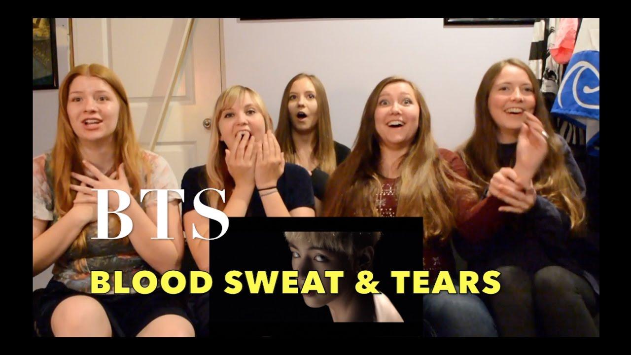 방탄소년단 (BTS) - 피 땀 눈물 (Blood Sweat & Tears) MV Reaction [Beware The Screams!] #1