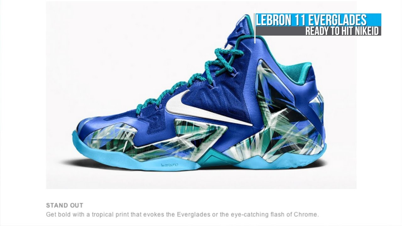 LeBron 11 Everglades iD, Lil Penny Posite, Kyrie Irving HyperRev PE - Today  In Sneaks - YouTube