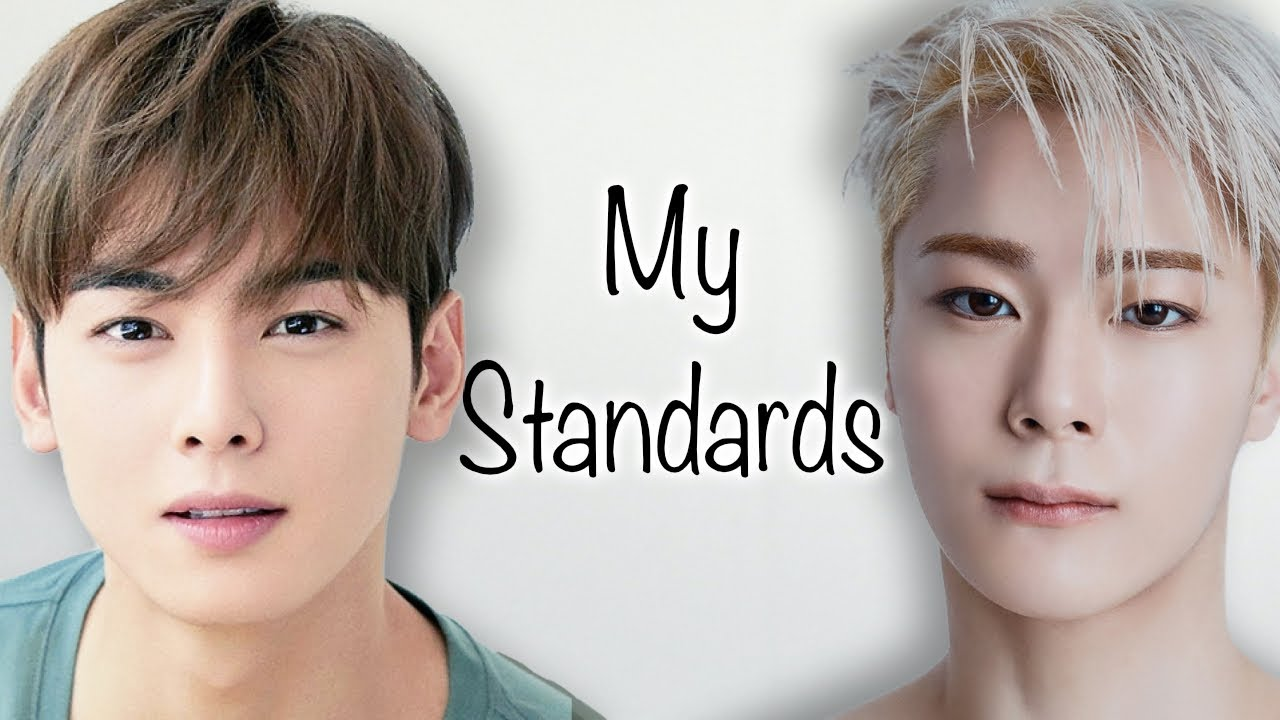 ASTRO vs Korean Beauty Standards (My Standards)