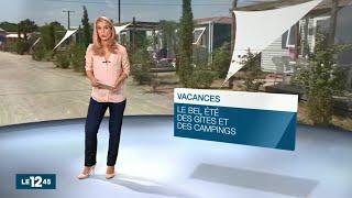 Camping Mas des Lavandes **** au JT M6 / M6 Replay - Valras Plage - Hérault