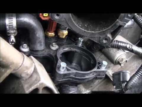 THERMOSTAT HOUSING REPLACEMENT ON FORD 4.0 SOHC