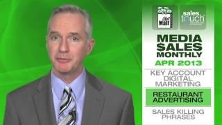 Key account digital marketing, Restaurant advertising, Sales-killing phrases (MSM-April 2013)