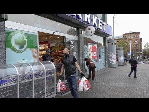 Ереван, 29.03.20, Su, Из дома, до ул.Исаакян, в супермаркет, день 5-ый, Video-1.