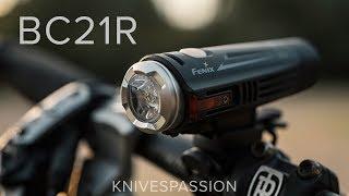 Test latarki rowerowej Fenix BC21R