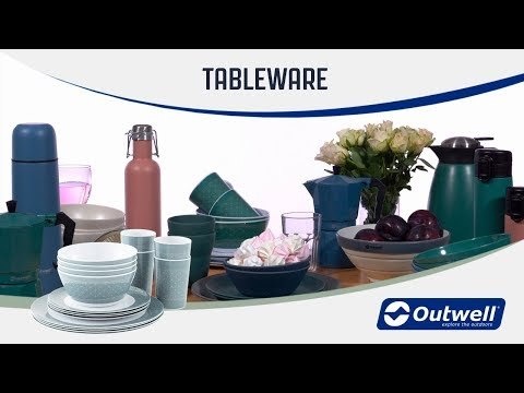 Outwell Tableware (2019) | Innovative Family Camping Tableware