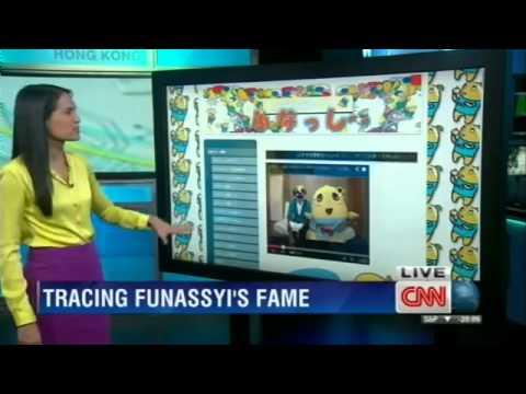 CNN美人アナふなっしーに笑いと...