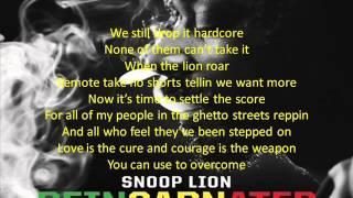 Snoop Lion - Rebel Way Screen lyrics REINCARNATED