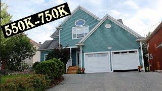Khu Nhà 550K-750K Ở Halifax, Nova Scotia Canada Có Đẹp Không?