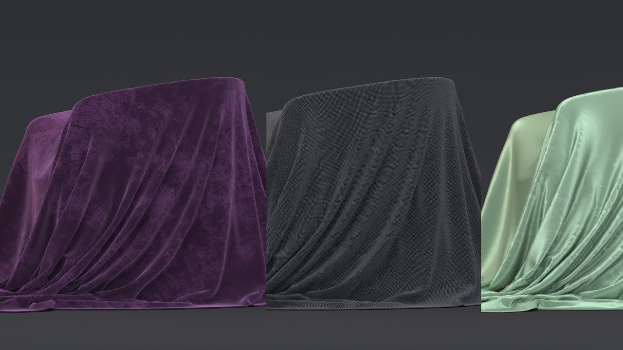 112  Creating realistic fabric shaders in Arnold for 3ds Max