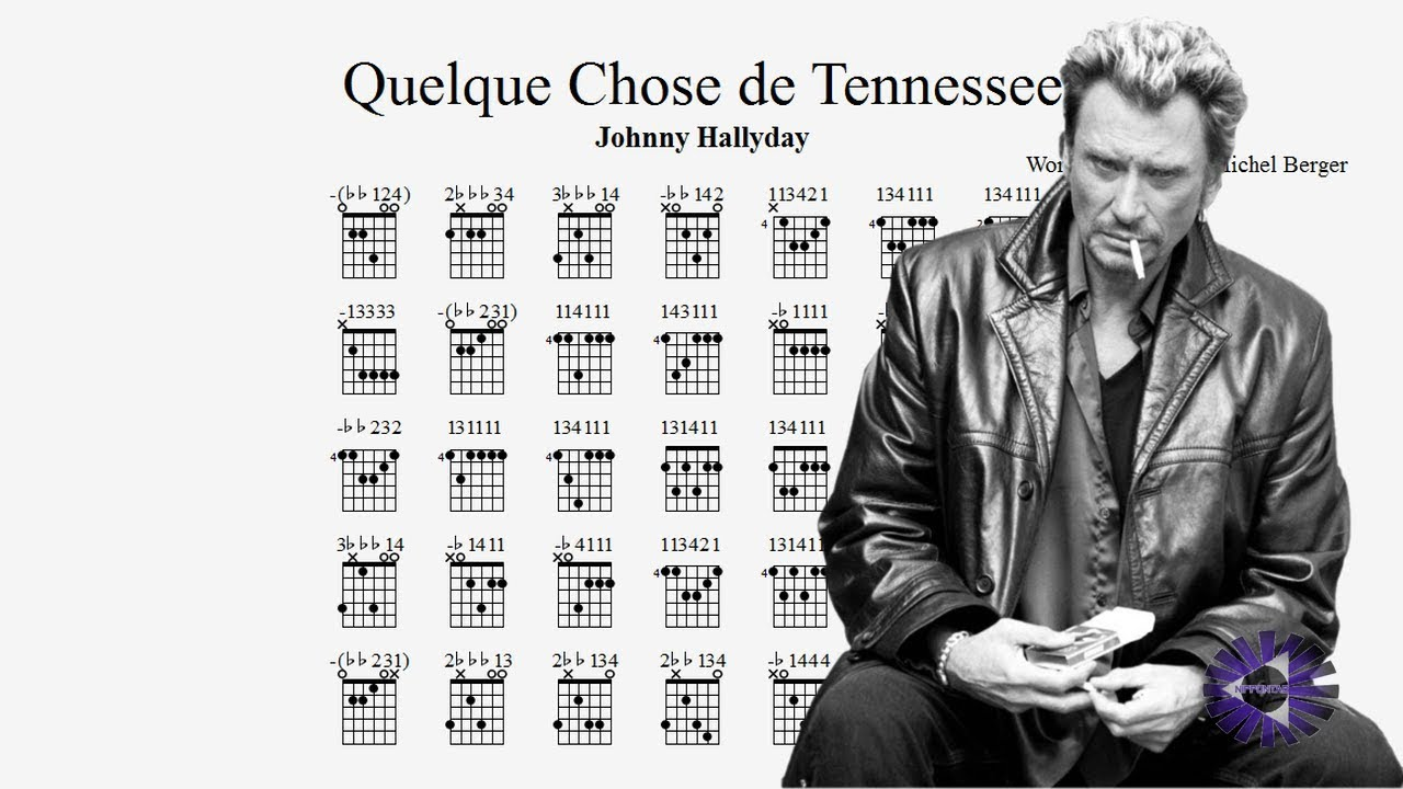 guitare quelque chose de tennessee guitar tablature chords tutorial tab johnny hallyday. Black Bedroom Furniture Sets. Home Design Ideas