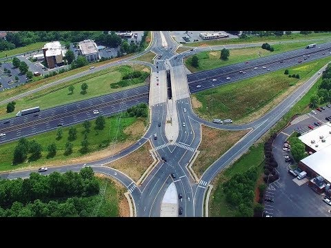 Updated Aerial View Of N.C. 119 South Relocation Project #3 - Mebane, NC