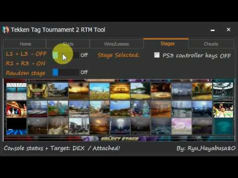 Tekken Tag 2 Hack Services And Rtm Tool Youtube