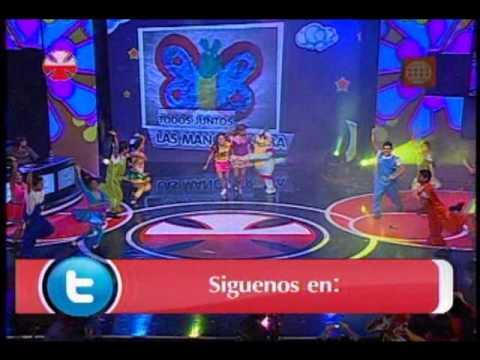 Nubeluz y Karina y Timoteo animaron la Teletón 2011