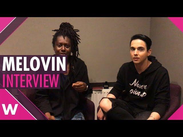 MELOVIN (Ukraine 2018) interview @ Kyiv concert