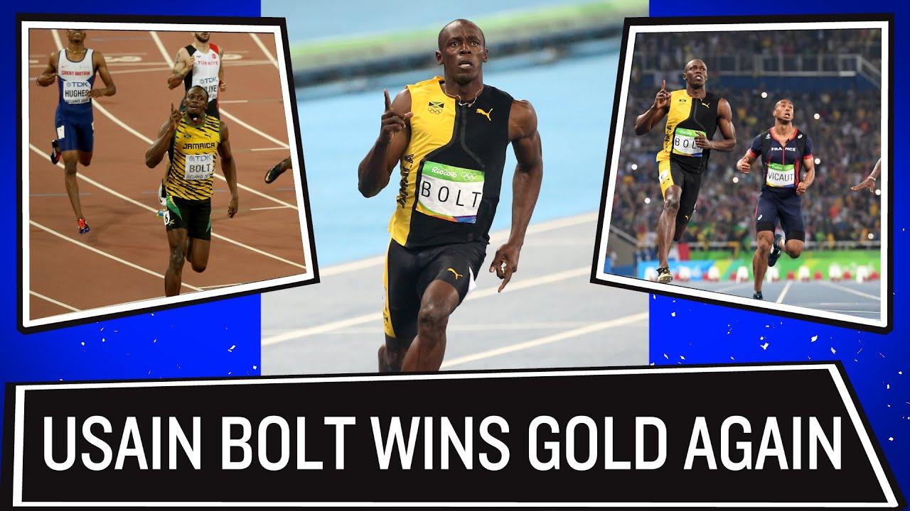Usain Bolt wins gold in 100m sprint | Rio Olympics 2016 ...