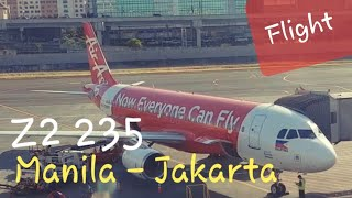 Video AirAsia Philippines Z2 235 Manila - Jakarta | Amazing Low Cost Airlines Flight Experience download MP3, 3GP, MP4, WEBM, AVI, FLV Agustus 2018