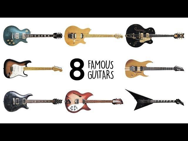 Famous guitars sound comparison. Guitarbank session