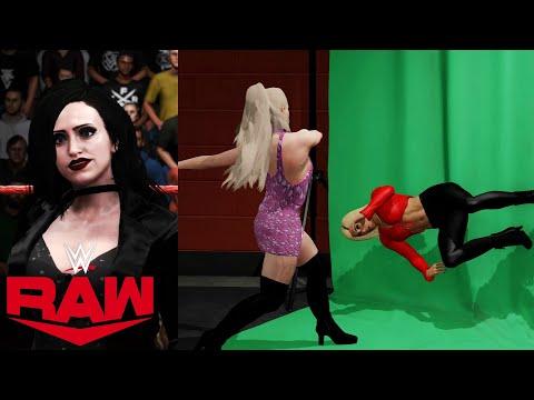 WWE 2K20 RAW JESSICA'S ANNOUNCEMENT + LYA ATTACKS CARMELLA