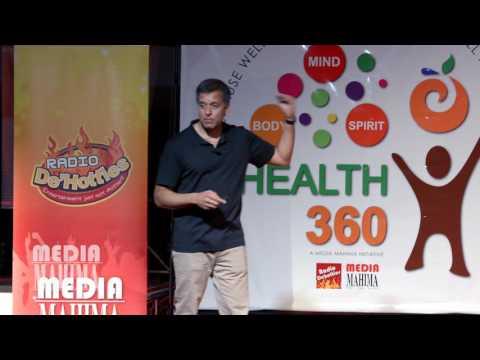 Health360 2017 Speaker Series - DR RONESH SINHA