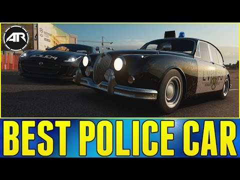 how to make a police car in forza horizon 3