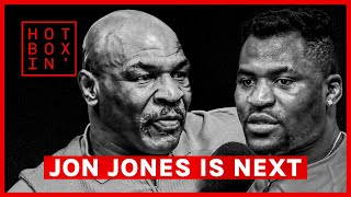 """Jon Jones is the fight I want next."" 