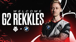 Welcome G2 Rekkles | G2 LoL Roster Announcement