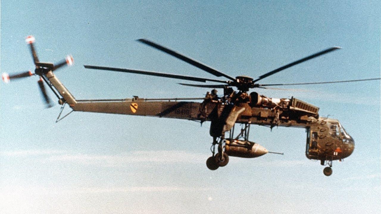 The Skycrane - Sikorsky CH-54 Tarhe