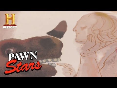 Pawn Stars: Signed Print by Salvador Dali | History