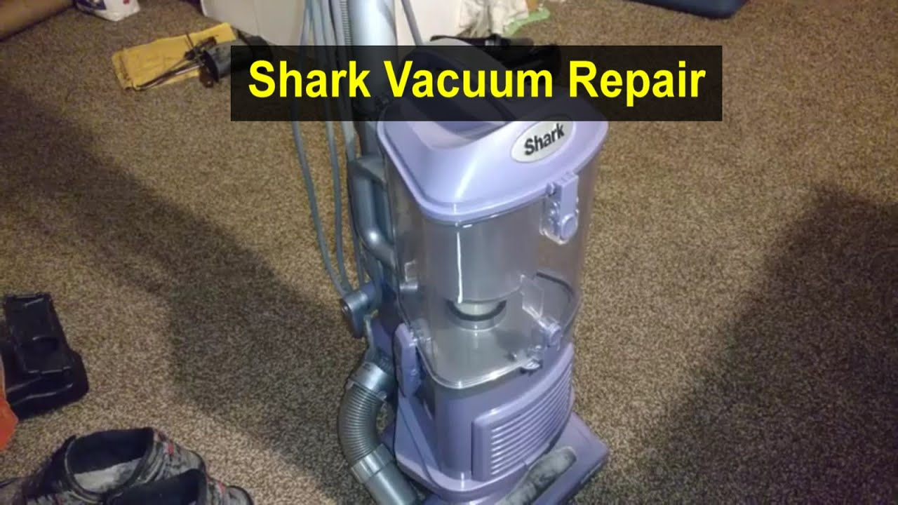 Shark Vacuum Cleaner Troubleshooting And Repair How To
