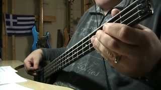 Pink Floyd Time Bass Cover